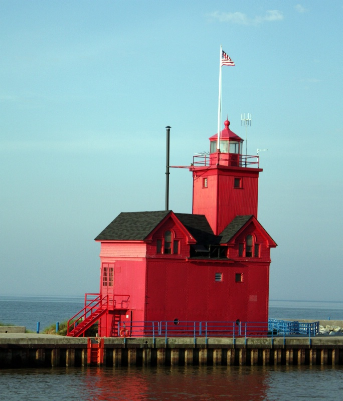 """""""Big Red"""" Lighthouse"""