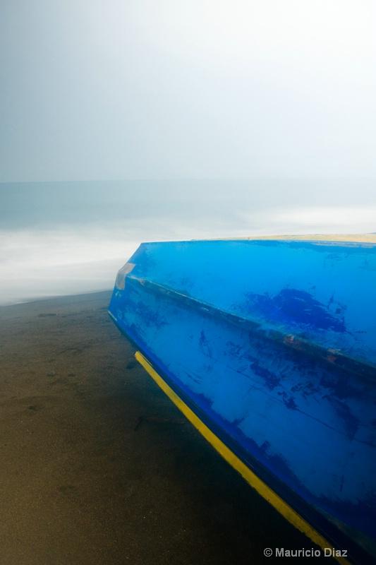 Blue Resting