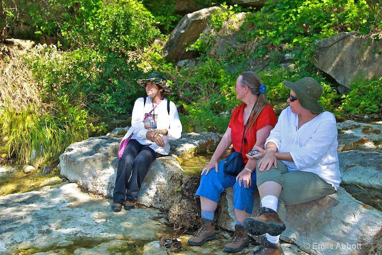 Jane, Jazz and Jane at Dolan Creek