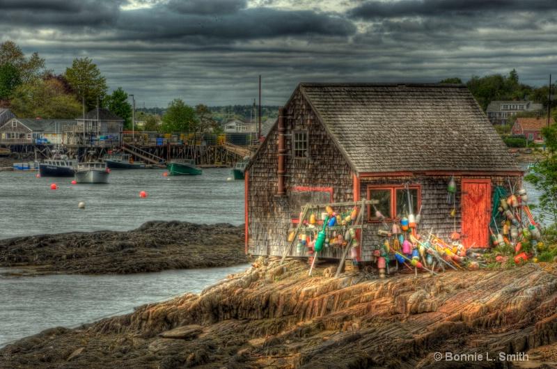 lobster shack  bailey island