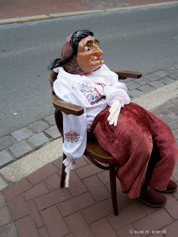 Walpurgisnacht Hexe, Goslar