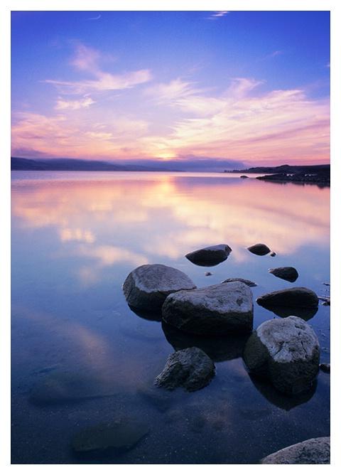 Lake Diefenbaker Sunrise