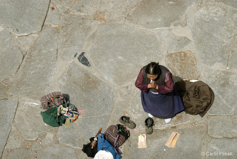 Daily Prayers at Jokhang Temple, Lhasa, Tibet