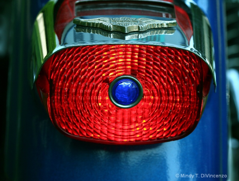 Blue Dot Tail Light