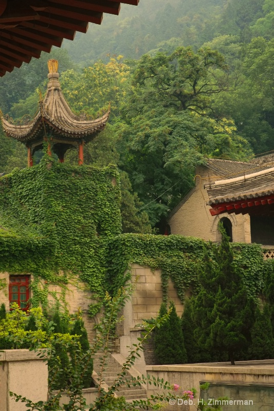 Huaqing Hot Springs in Xian, China