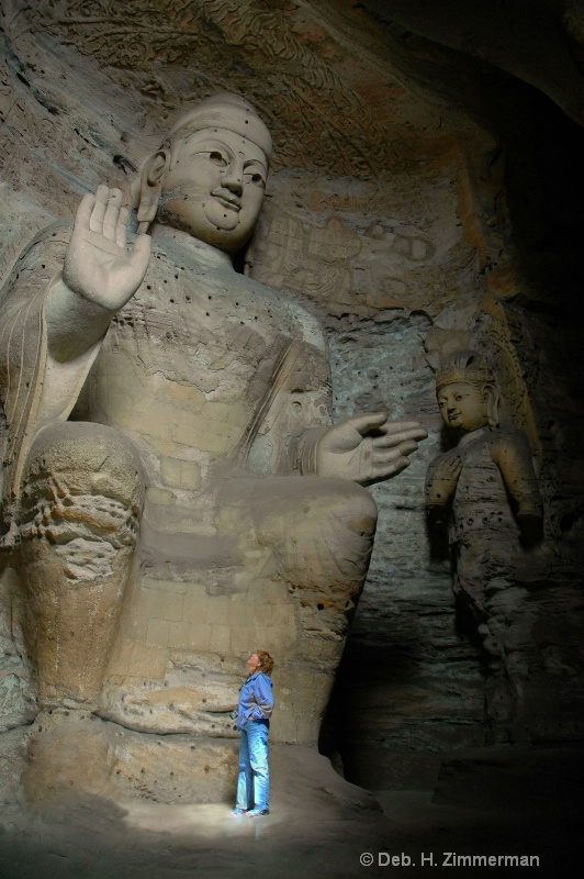 Jan in the presence of Budda at Datong