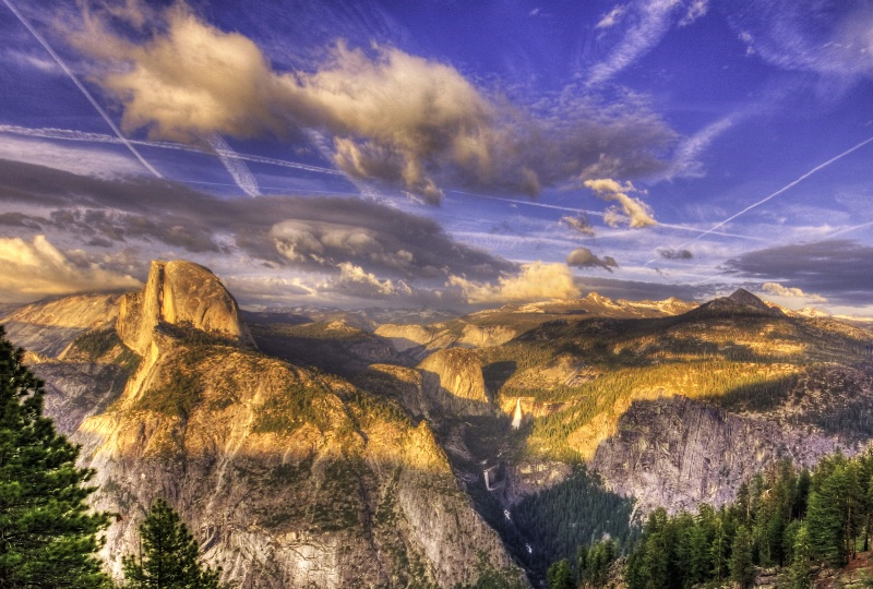 Late Afternoon Yosemite View