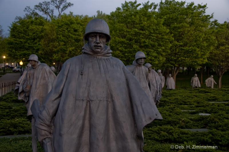 Warming of the Korean War Memorial