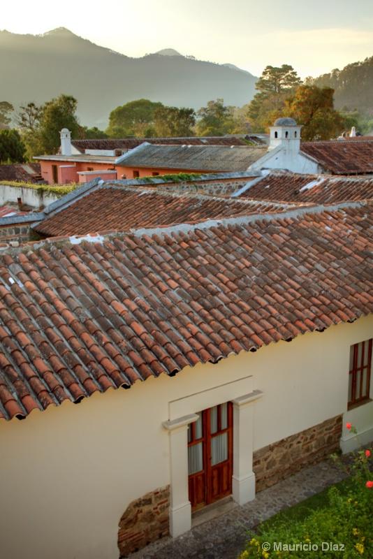 Antigua's Roof Tiles.