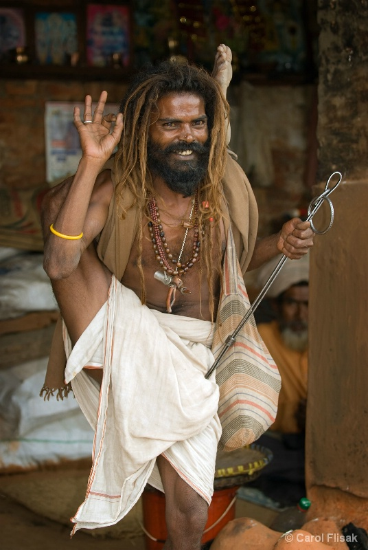 Can You Do This? ~ Kathmandu Sadhu