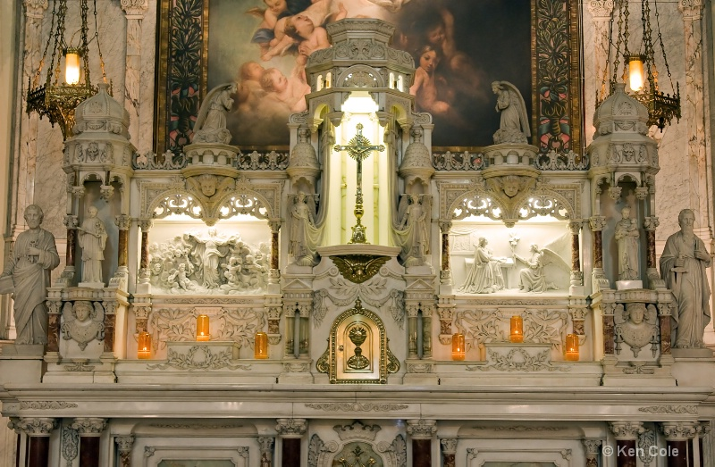 Ornate Church Altar