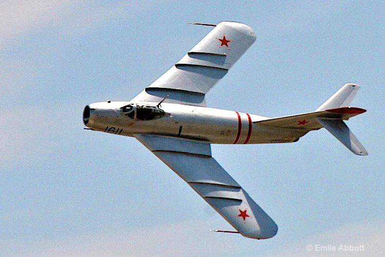 Top View Russian MIG-17