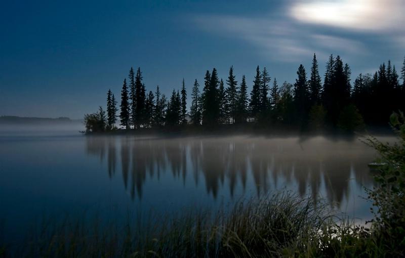 Mist over Loon Lake