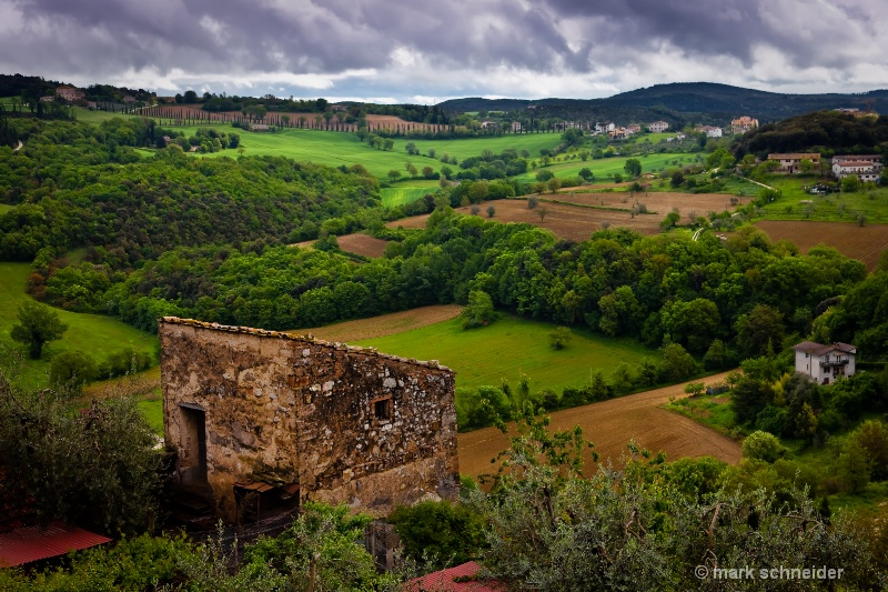 Umbria countryside