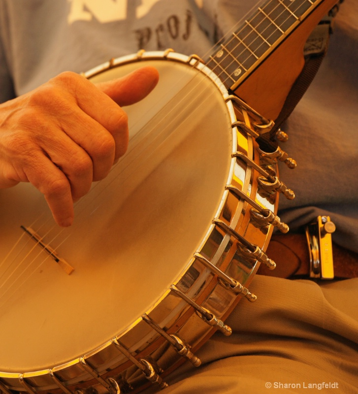 75 Year Old Banjo-playing Hands