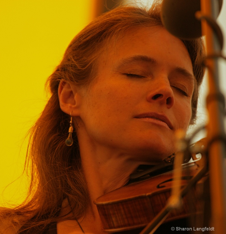 Heidi on the Fiddle