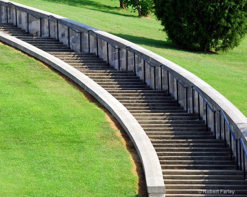 slowly winding stairs