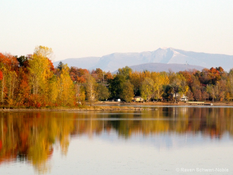 Fall Reflections to Mt. Mansfield