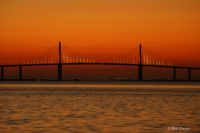 Dawning of a Sunrise At the Skyway