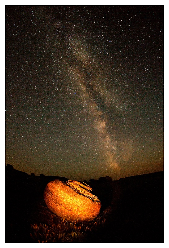 Milky Way at Red Rock Coulee