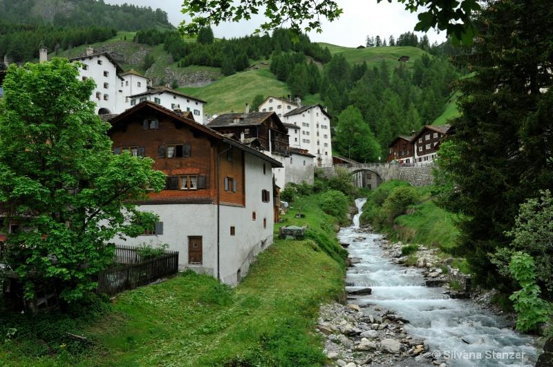 Switzerland Splügen Pass