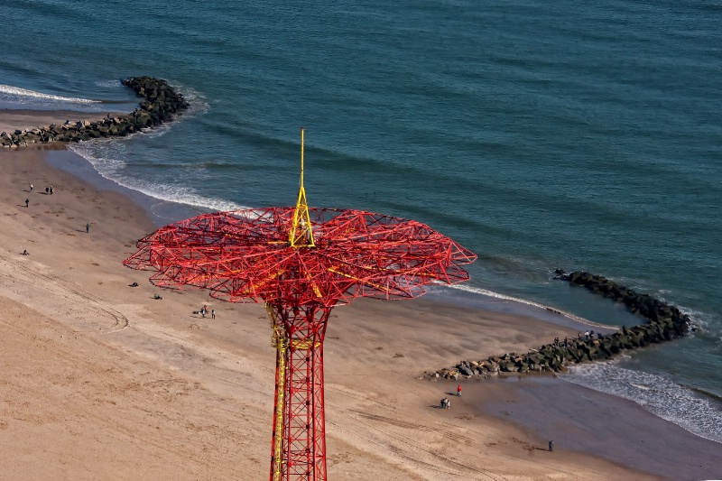 Above Coney Island