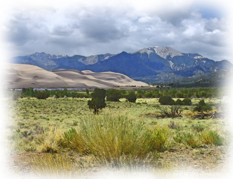 great sand dunes vista