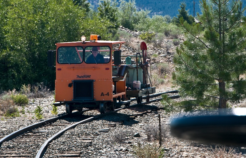Railroad Track Clean-up