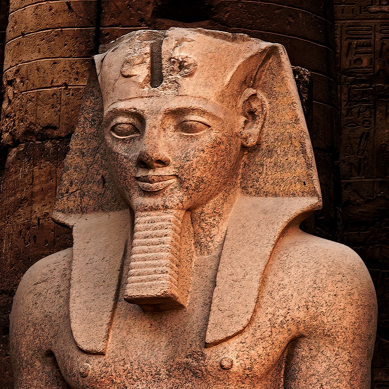 Ramesses II,  Luxor Temple Egypt