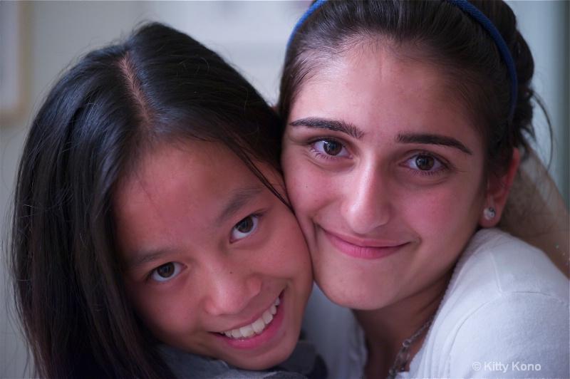 Yumiko and Sonia