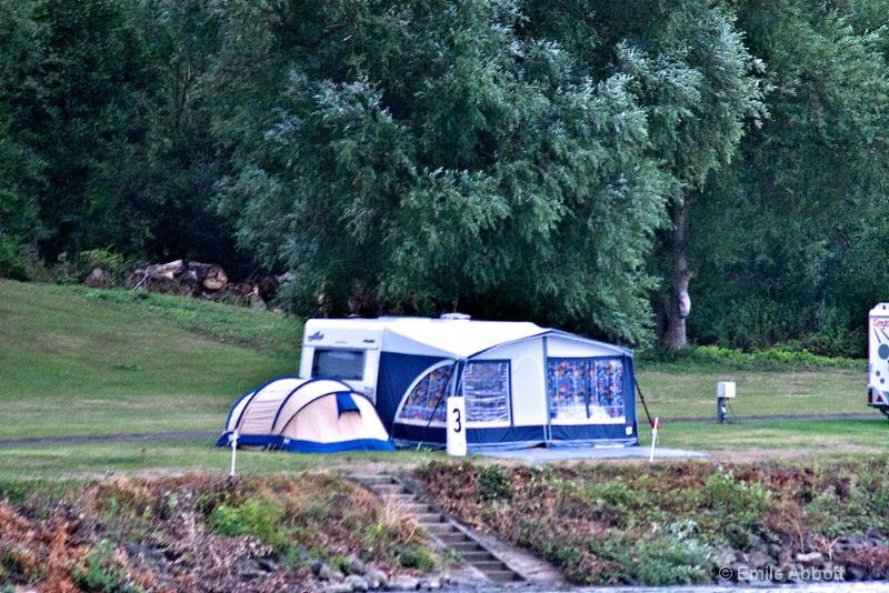 Camping near 3 Km marker