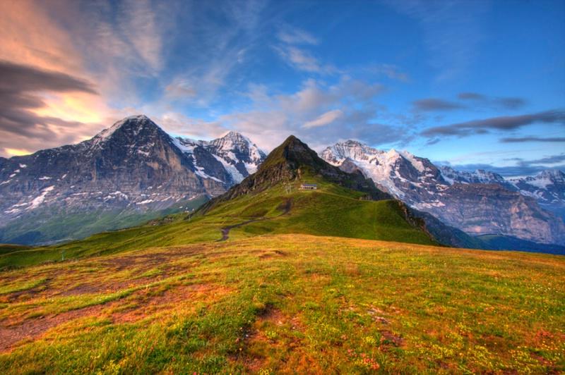 Top of the Alps Mannlichen
