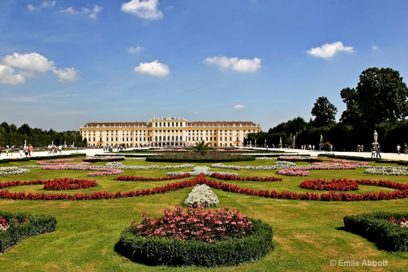 Great Parteree and Schonbrunn Palace