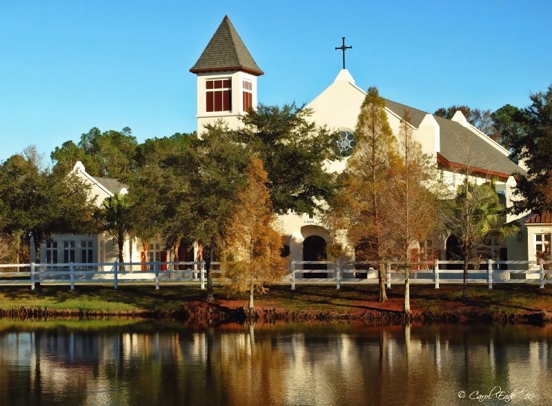 Church By The Lake