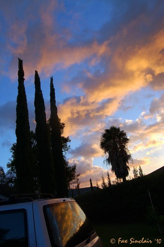 Waikoloa Sunset w/ Car