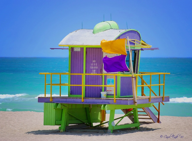 12th Street Lifeguard Tower, South Beach