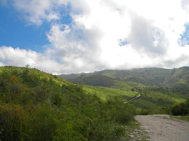 roads to Fond Baptiste