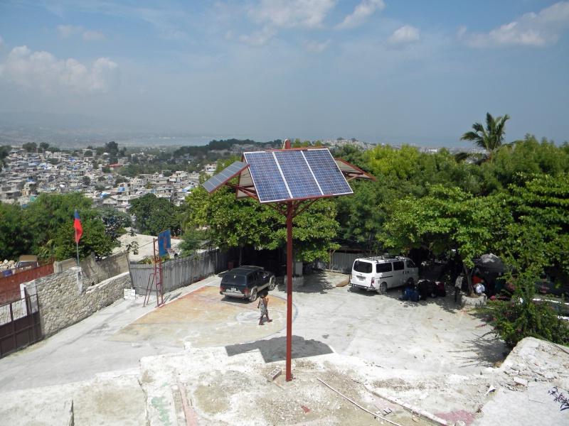 solar energy at Hospice St. Joseph