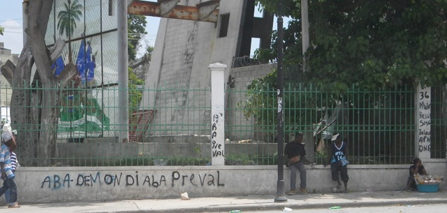 Preval graffiti