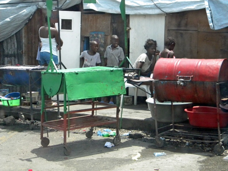 roadside cooking with trhese grills