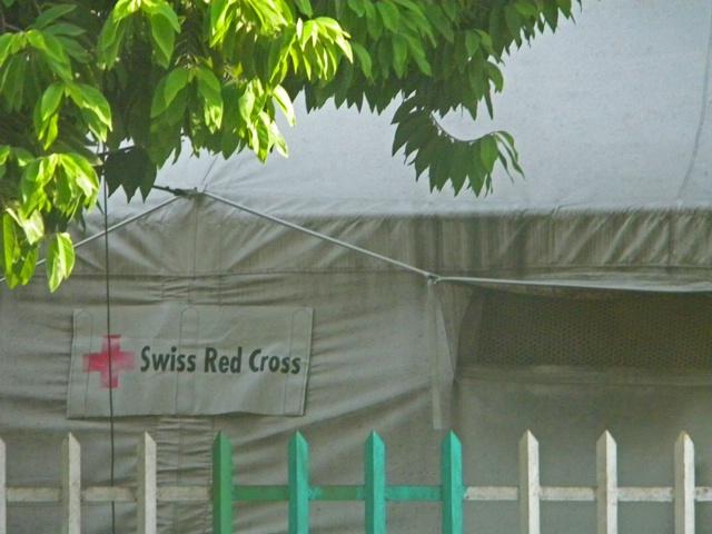 Swiss Red Cross-still here in PAP