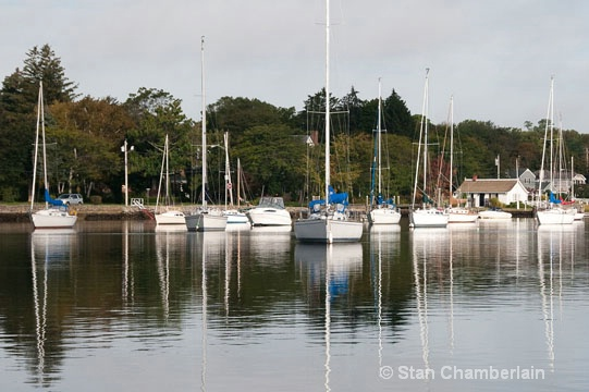 Barrington River Mast Reflections