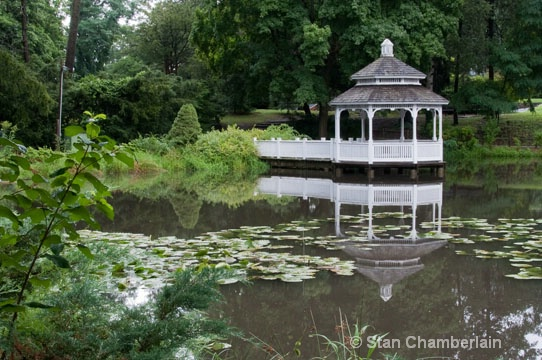 Barrington Gazebo in Summer