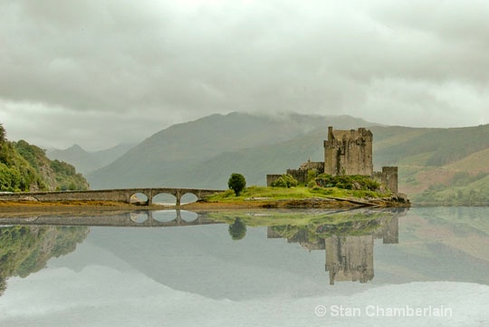 Eilean Donan Castle with Reflection