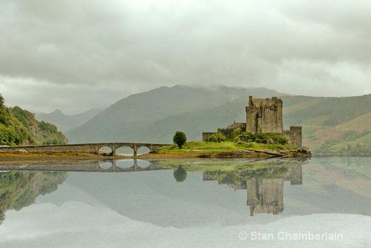 Eilean Donan Castle with Reflection