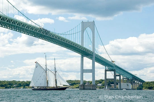 Tall Ship Bluenose from Nova Scotia, Canada