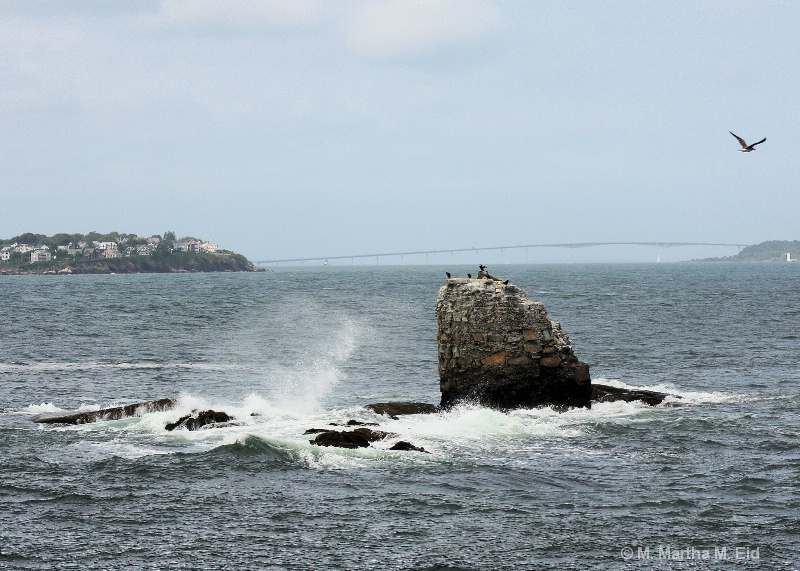 Whale Rock, Newport, RI