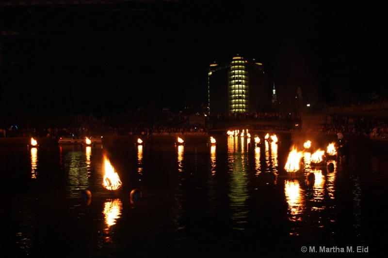 Waterfire Installation, Providence, RI