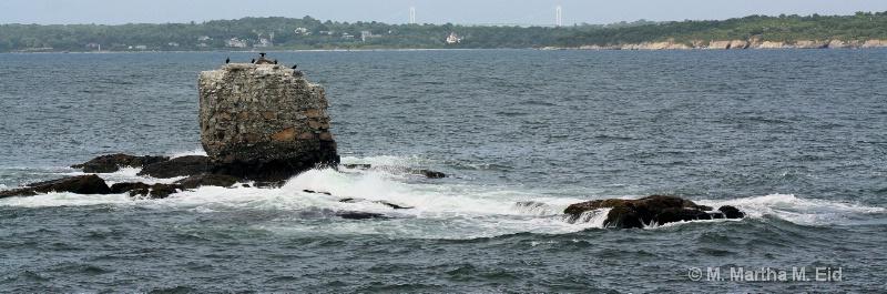 Whale Rock, Newport, Rhode Island