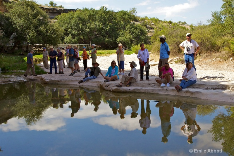 Reflections of Rock Art Foundation group